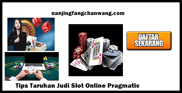 judi slot online pragmatic